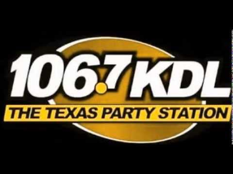 ShawnKBryson  - 106.7 KDL - Texas Party - LunchBreak Old School - Radio Remix