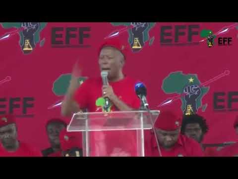 EFF Julius Malema Human Rights Day Full Speech 21 March 2018