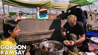 Download Gordon Ramsay Learns How To Prepare Vietnamese Soup | Gordon's Great Escape Mp3 and Videos