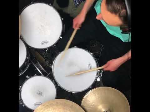 Myles Ulrich  Drumming Practice Lars Ulrich's Son