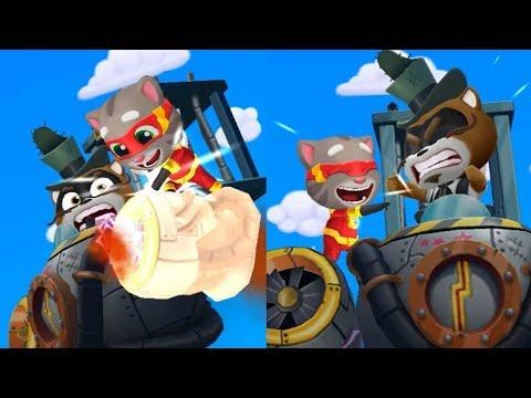 Talking Tom Hero Dash - Gameplay Walkthrough Part 1 (Android)