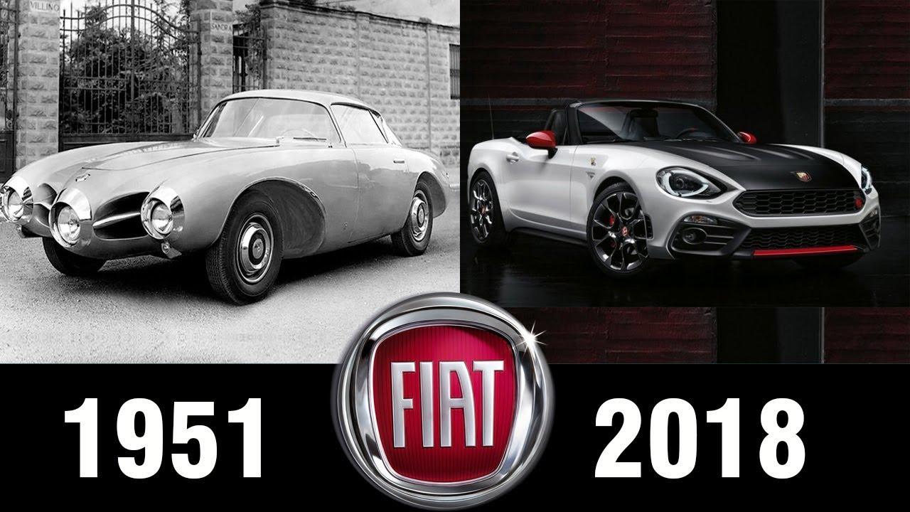 The Evolution Of Fiat Concept 1951 2018 Fiat Concept Evolution
