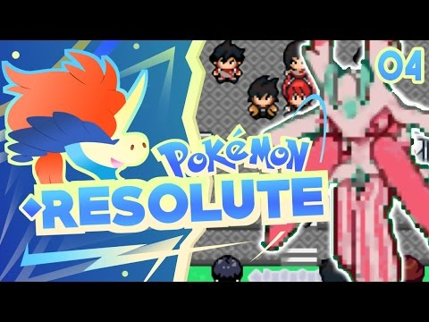 Pokemon Resolute Rom Hack Part 4 LURANTIS! Gameplay Walkthrough