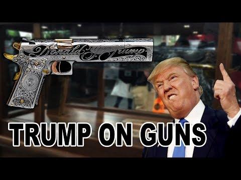 TRUMP is HARD on GUNS !  JJFU style