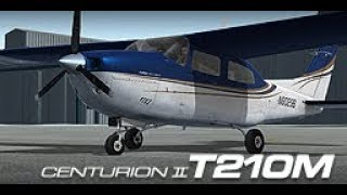 Cessna CT210M Centurion II Turbo HD by:  (Carenado); Classic Electric Blue.