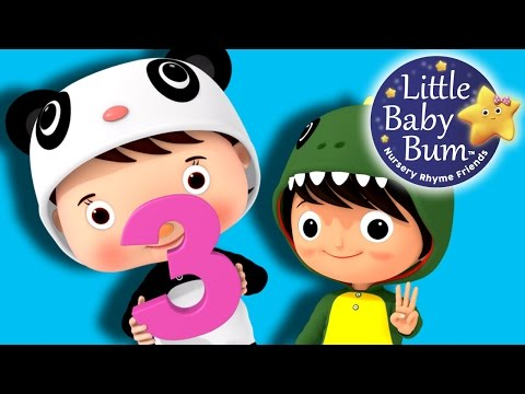 Numbers Song  Number 3  Nursery Rhymes  Original Song  LittleBaBum!