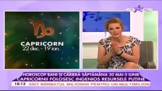 HOROSCOP pentru 29 mai 05 iunie 2016 # STARZODIAC cu Camelia Pătrășcanu