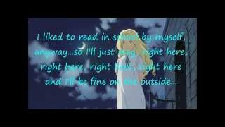 Fine on the Outside - Priscilla Ahn (Lyrics)