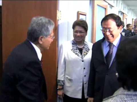 Meeting with Sen.  Daniel Akaka