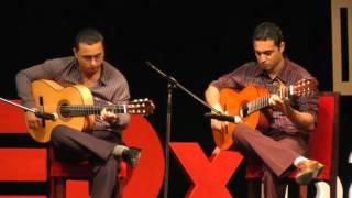 Sarmad Shaheed and Ahmed Ali at TEDxBaghdad