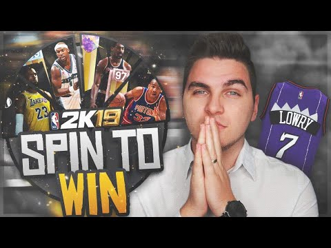 THERE IS NO WAY...NBA 2K19 SPIN TO WIN #7