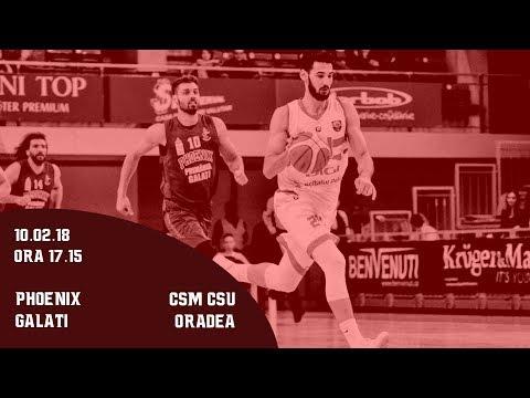 CUPA ROMANIEI (M) - FINAL 8: Phoenix Galati – CSM CSU Oradea