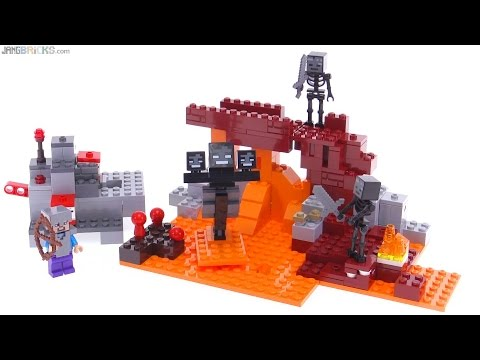 LEGO Minecraft The Wither reviewed! 21126