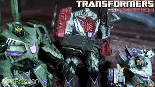 Transformers: War for Cybertron - Xbox 360 / Ps3 Gameplay (2010)