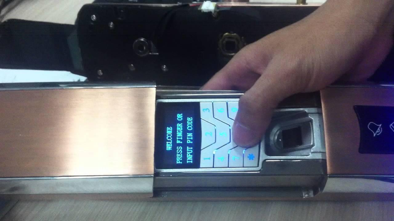 setup zwave door lock