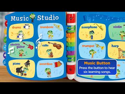 Tad's Get Ready for School Book   Demo Video   LeapFrog
