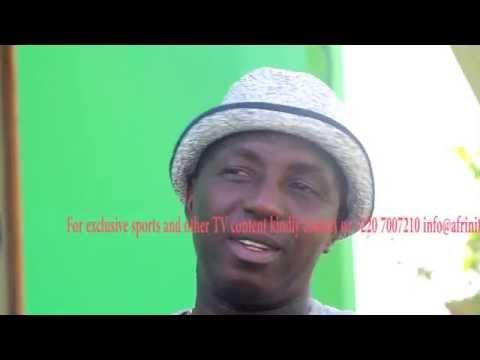 Samson Siasia Nigeria U - 23 Coach interview in Banjul The Gambia.