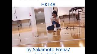From Sakamoto Erena's instagram ^^ 坂本愛玲菜ちゃんのインスタグラム...