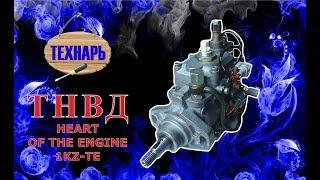 ТНВД 1KZ-TE топливный насос высокого давления