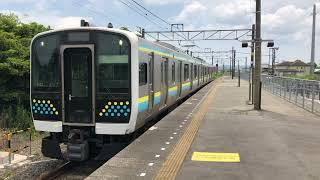 E131系0番台マリR03編成那古船形発車