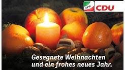 Frohe Weihnachten von der CDU Nordrhein-Westfalen