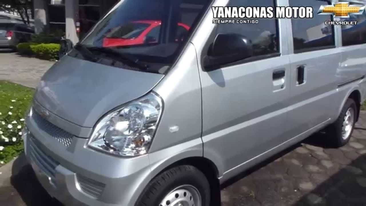 2013 chevrolet Van N300 Pasajeros modelo 2013 al 2014 colombia - YouTube 56e9ed71b9b