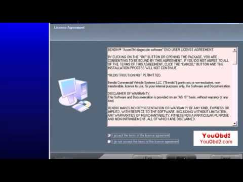 How to use USB Link + Software Diesel Truck Interface to test Bendix By Youobd2