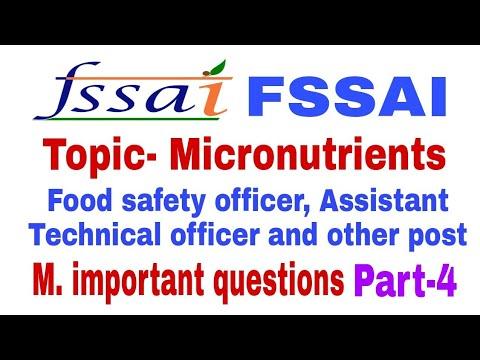 Repeat Fssai most important questions।Micronutrients।vitamins