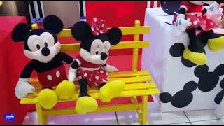Cosmos Decorações - Mickey e Minnie