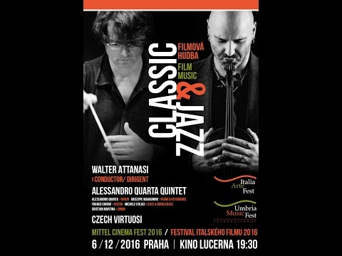 Walter Attanasi/Alessandro Quarta Quintet/ Czech Virtuosi/ Classic&Jazz/Film Music /The Godfather .2