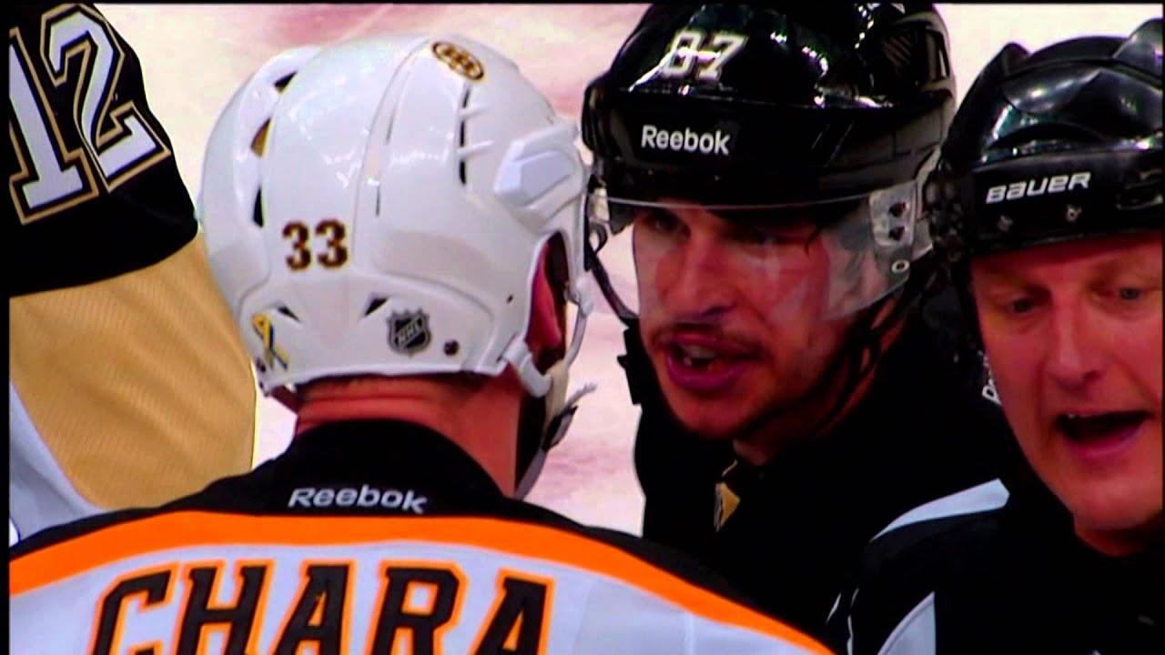 Bruins Hd Wallpaper Sidney Crosby Vs Zdeno Chara Captain Stand Off June 1