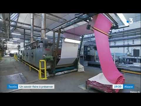 Reportage Manufacture Hartmann EURO TF, Semaine Alsace terre textile