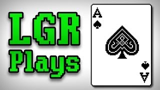 LGR Plays - Solitaire on Windows 3.1