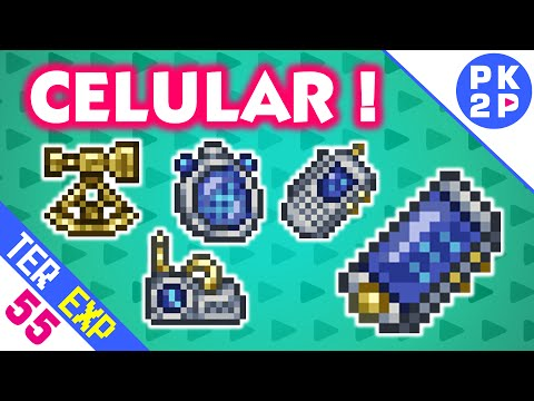 Cell Phone, Sextant, Fish Finder, Weather Radio e PDA • Terraria 1.3 Expert #55