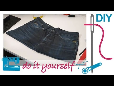 diy upcycling tasche handtasche aus alter jeans n hen youtube. Black Bedroom Furniture Sets. Home Design Ideas