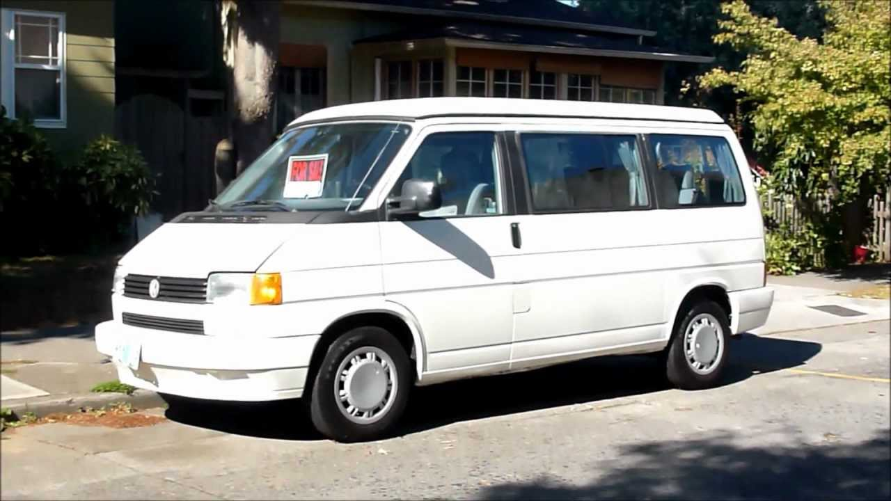 Vw Eurovan Camper >> Classic 1993 VW Eurovan Westy poptop - YouTube