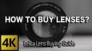 LEICA LENS BUYING GUIDE #Leica Review