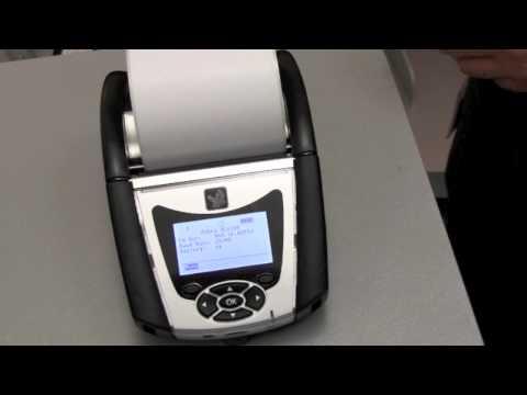 Quick Overview of Zebra's QLn320 Mobile Printer - YouTube