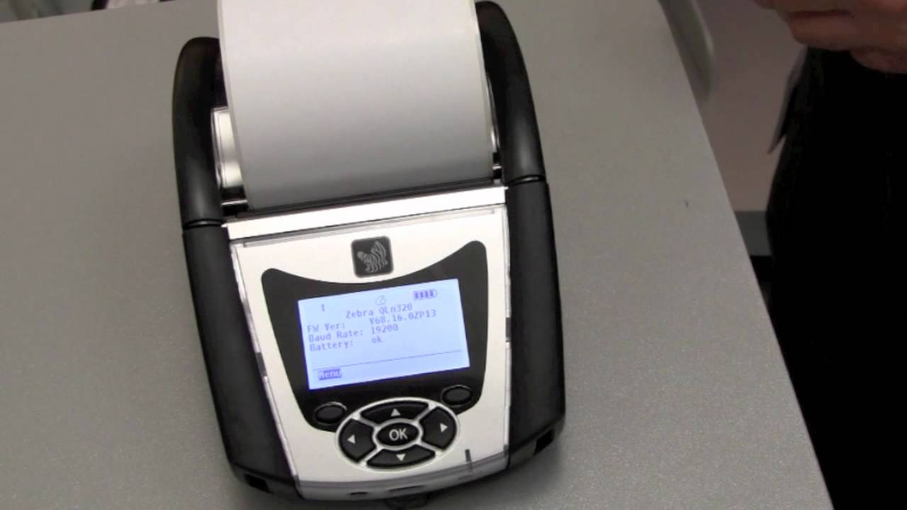 Quick Overview of Zebra's QLn320 Mobile Printer