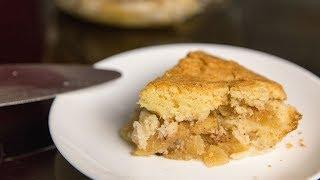 Очень простой яблочный пирог