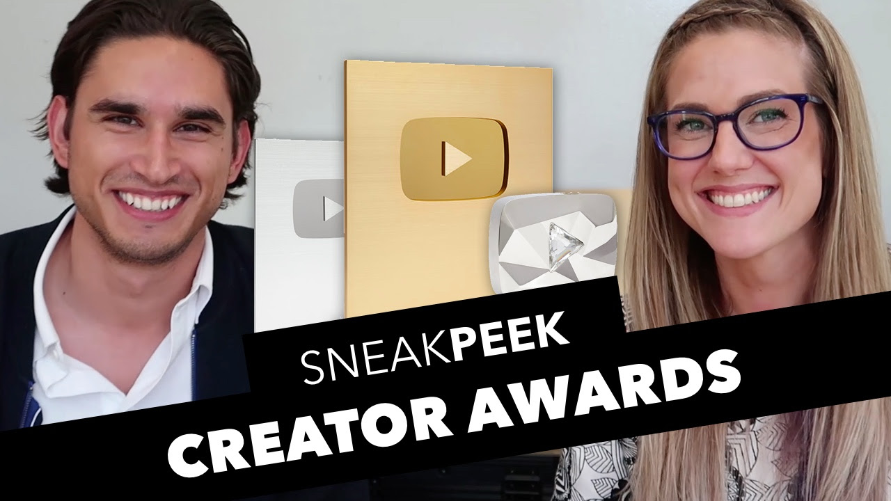 whoa a new play button and a new name youtube creator award