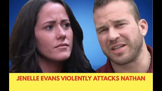 Jenelle Evans Violently Attacks Nathan Griffith and His Girlfriend Ashley At #TeenMom2 Reunion