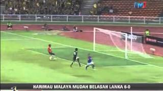 (FULL MATCH HIGHLIGHT) : MALAYSIA [6] vs [0] SRI LANKA (28.4.2012)