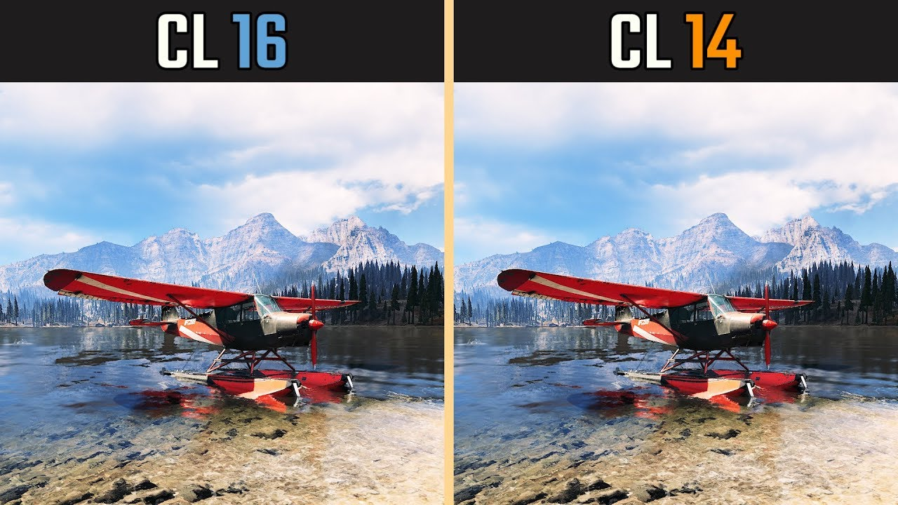 CL16 vs  CL14 Gaming (RAM Timings Benchmark)