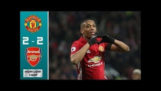 Download Video Best Moments, Manchester United vs Arsenal [2 – 2] : Highlights All Goals MP3 3GP MP4