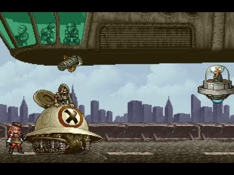 Metal Slug Attack - Rebel anti-blimp deck prototype! (Online 1v1)