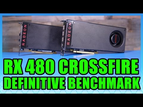 CrossFire RX 480 Benchmark vs  GTX 1070, GTX 1080 – Power, Thermals