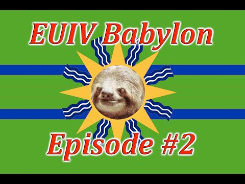 Let's Play EUIV Babylon Episode 2 (Fall of Rome!?)
