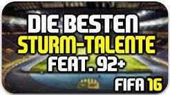 FIFA 16   Beste Sturm-Talente feat. 92+! [Potenzial, Spielerentwicklung, Karriere]   HD Deutsch