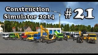 Let's Play Construction Simulator 2014 - Part 21 Mission: Pool Hoffmann family